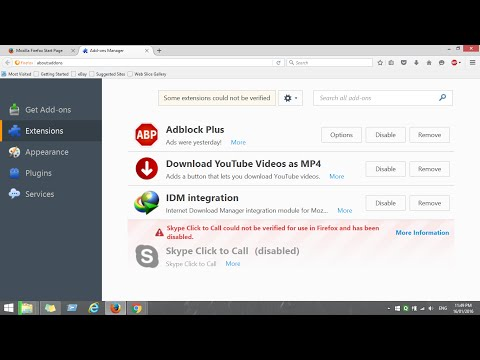 How  To Fix The Integration Of  Idm In Latest Firefox