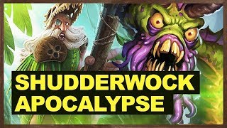Shudderwock Apocalypse | The Witchwood Hearthstone