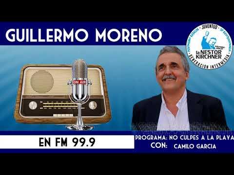 Guillermo Moreno en FM 99.9 10/01/18