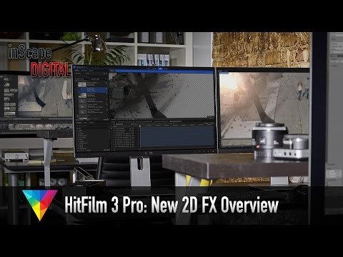 HitFilm 3 Pro: New 2D FX Overview