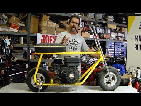 "Tillotson 212cc Stage Vl 20hp ""HOT TILLY"" Temecula Bob Minibike Build 🏁"