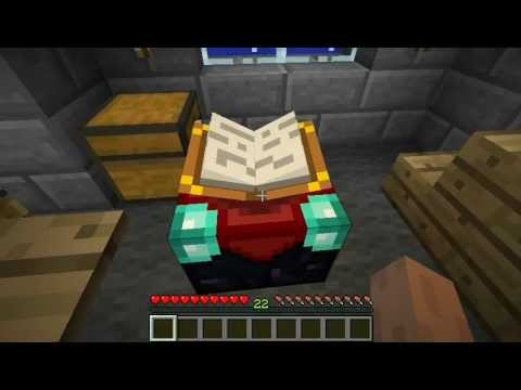 Minecraft tutorial how to make a enchantment table youtube for Minecraft coffee table