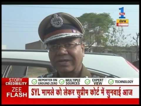Haryana DGP visited Kaithal and praised district police on action against Nabha jail break