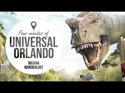 Universal Orlando Travel Guide + Attractions Map
