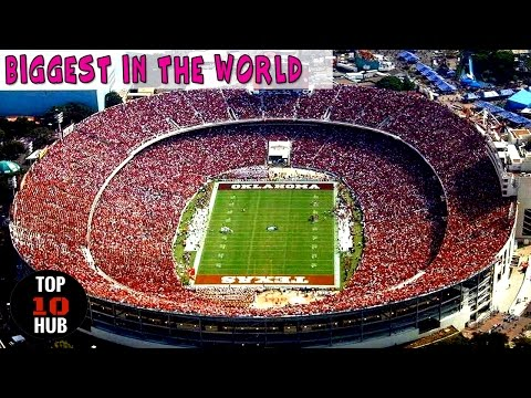 TOP 10 Largest Football Stadiums In The World  ☮ ☮ ☮