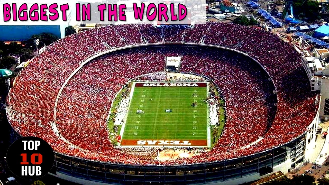 top 10 largest football stadiums in the world youtube