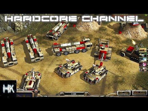 Command & Conquer Generals: Zero Hour - FFA - Танковый трындец
