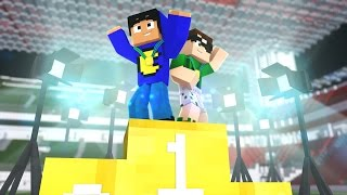 Minecraft: GANHAMOS MEDALHA DE OURO! (Pac e Mike nas Olimpíadas)