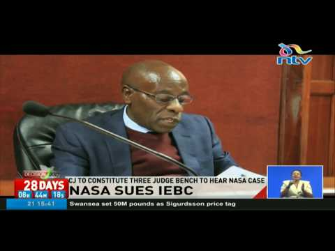 Nasa sues IEBC, wants bdy to disclose alternative systems