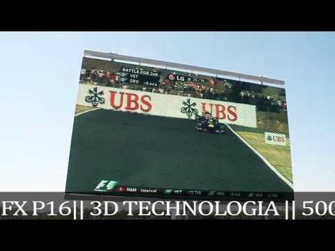 Techfront Europe KFT LED Screens @ Formula1 Racing \\ 2013 \\