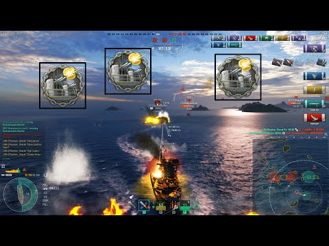 KII - 243K DMG - 7 Kills - World of Warships