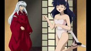 Repeat youtube video Some funny and hot inuyasha and koga pic's