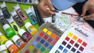 Обзор красок и маркеров для ткани