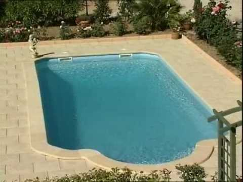 piscine provence polyester 4900 youtube. Black Bedroom Furniture Sets. Home Design Ideas
