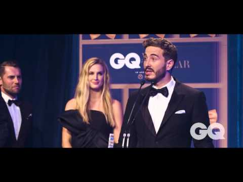 Actor Ryan Corr Accepts His Breakthrough Actor Of The Year GQ MOTY Award