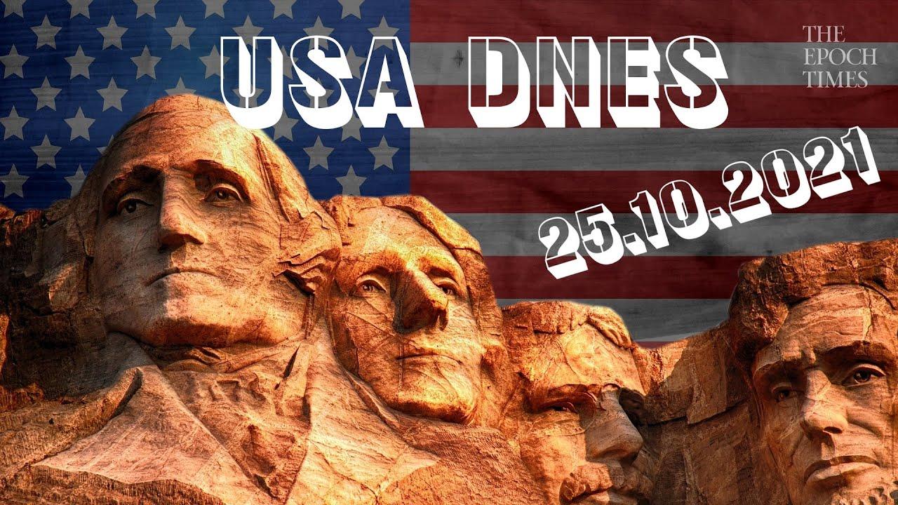 USA DNES: Přehled zpráv – 25. října 2021