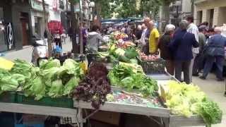 видео Город Бланес - Испания. Улицы, магазины, достопримечательности/Blanes - Spain. Streets, shopping