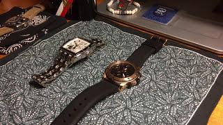 55df5337b54 BULOVA ROSE GOLD MARINE STAR 98B104 WATCH REVIEW - VideoClip