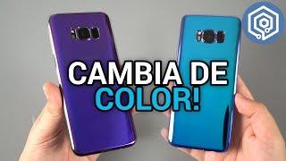 FLOVEME: la funda que cambia de color según la luz para tu Galaxy S8 (y otros smartphones)