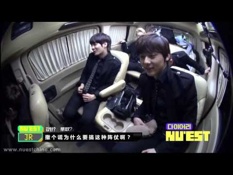 【NECN首站中字】SBSMTV NU'EST diary EP5精美特效版]