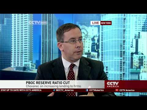 Patrick Chovanec on the People's Bank of China reserve ratio cuts
