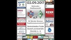 Walsroder Auswahl : Werder Bremen Traditionsmannschaft