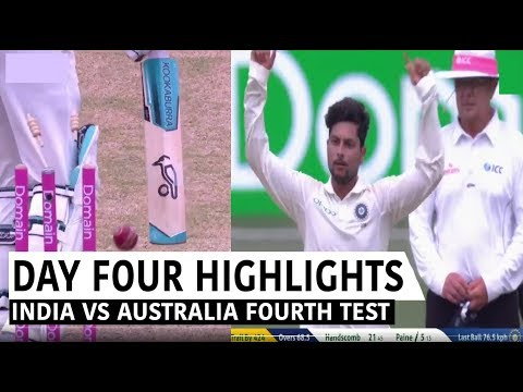 India Vs Australia 4th Test 4th Day Full Match Highlights |FOURTH DOMAIN TEST HIGHLIGHTS