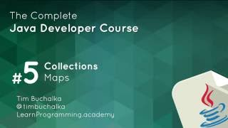 Java Course - 6 of 7 - Maps