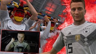 MARCO REUS ERSTER WM TREFFER! GEGEN THREE LIONS! 🖤 FIFA 18 WM/World Cup (VIERTELFINALE) Deutschland