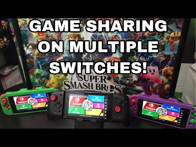 Game Sharing With Multiple Nintendo Switches