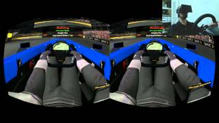 First Complete Race with the Oculus Rift