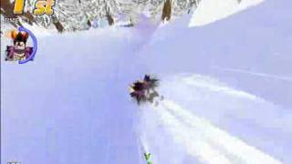 テイルズランド あくまくん、雪の中を走るの巻