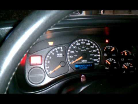 01 Gmc Sierra U1064 Code