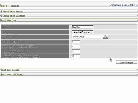 MozyPro Adding Users In The Admin Console