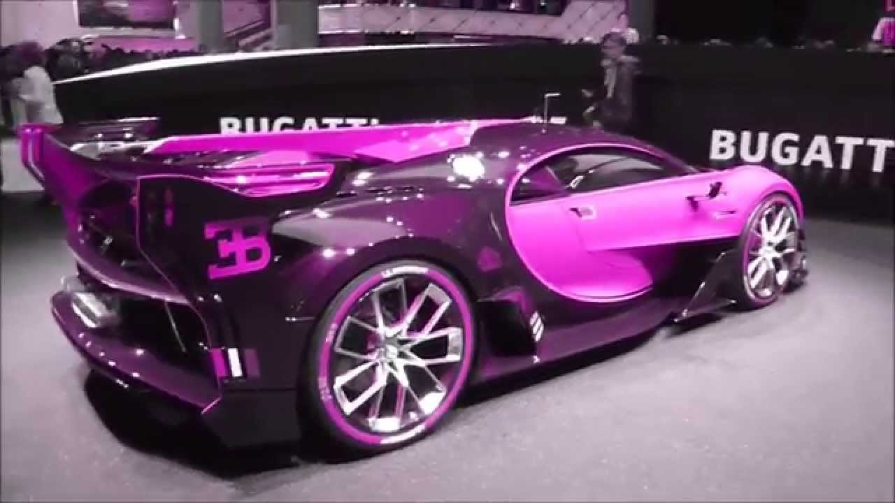 Color changing bugatti