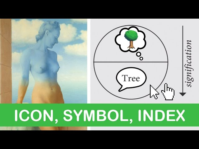 Semiotics: Making Meaning from Signs, Symbols, Icons, Index | LittleArtTalks