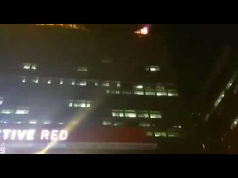Durban building catches fire