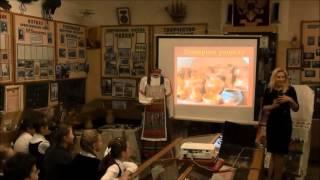 Урок в музее Русь ремесленная
