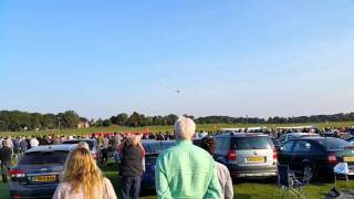The last Vulcan display anywhere...EVER.  XH558 R.I.P. (with Tower/Vulcan communication)