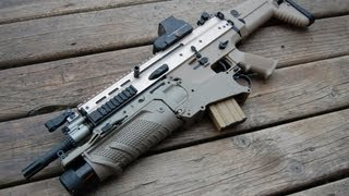 WE MK16 FN SCAR-L Gas Blowback Rifle - V2 Open Chamber Model Airsoft Overview