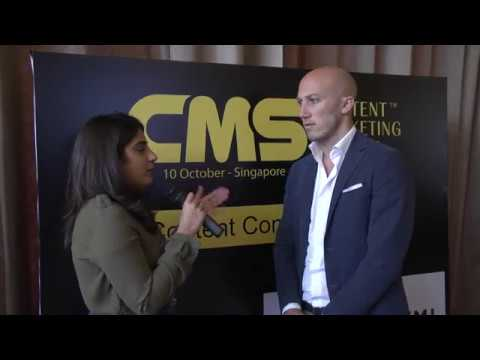 Matteo Sutto - Head of Growth, iPrice Group Malaysia at CMS Asia 2017