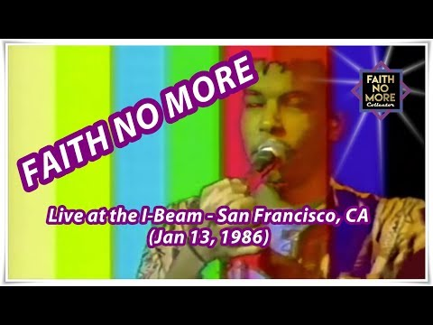 Faith No More (w/ Chuck Mosley) - Live at The I-Beam - 1986   FNM Collector