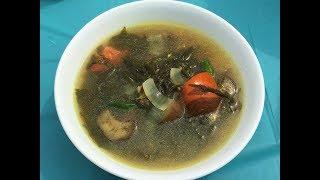 Myanmar Food Recipes Burmese Roselle Leaves with Eggplant Soup ခရမ္းသီးနွင္႔ခ်ဥ္ေပါင္ဟင္းခ်ိဴ