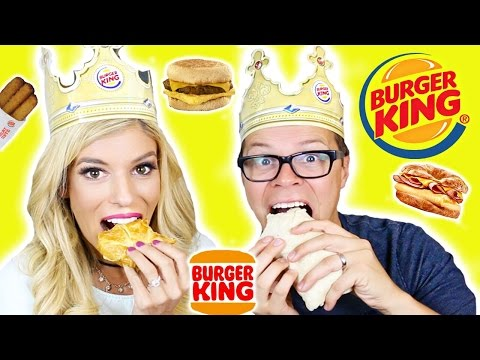 Trying Burger King Breakfast