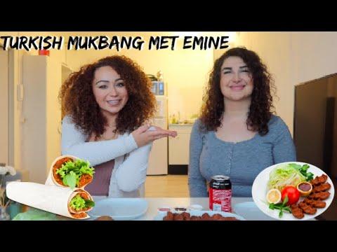 Mukbang en Q&A: hoe kennen wij elkaar, blunders en lekkerste eten-  Myriam Ahmadi vlog