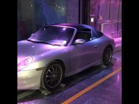 Car Elevator At Porsche Design Tower Miami Youtube