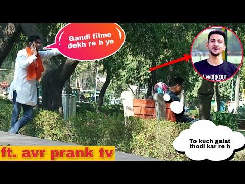 Calling Bajrang Dal prank ft. Avr Prank Tv - Vinay Thakur Valentine's special |BAD Guyz|