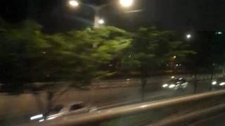Bus ride in Korea(streets of Korea)