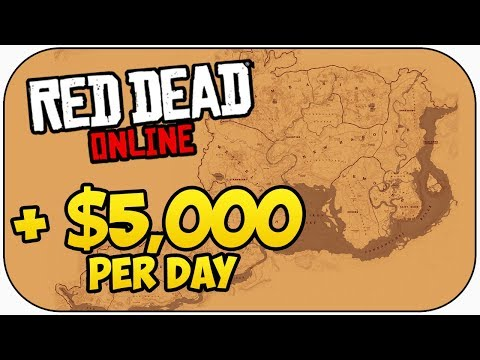 How I Made $5,000 In 1 Day In Red Dead Online!