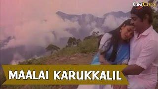 Maalai Karukkalil Video Song | Neethiyin Marupakkam | Vijayakanth, Radhika